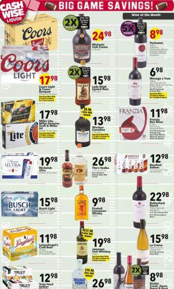 Cash Wise Liquor Only Flyer - 02.03.2021 - 02.09.2021.