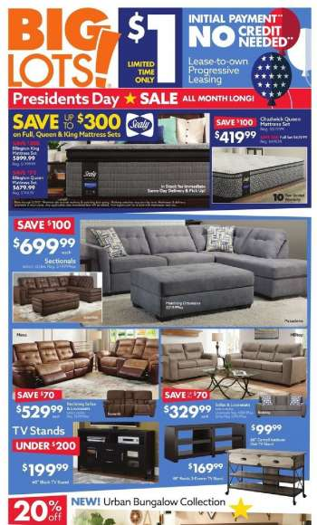 Big Lots Flyer - 01.31.2021 - 02.06.2021.