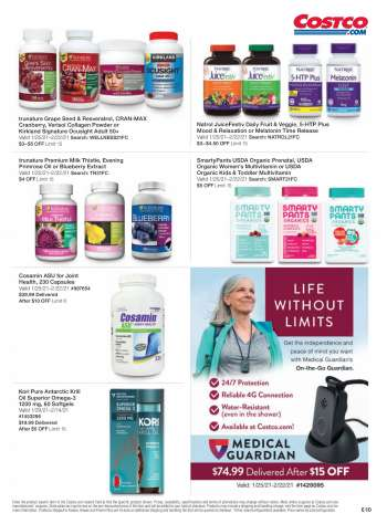 Costco Flyer - 02.01.2021 - 02.28.2021.
