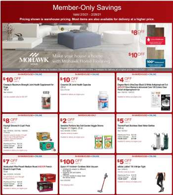 Costco Flyer - 02.03.2021 - 02.28.2021.