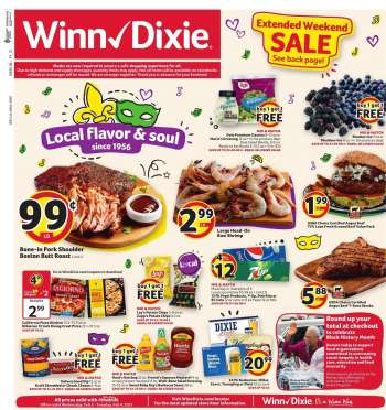Winn Dixie Flyer - 02.03.2021 - 02.09.2021.