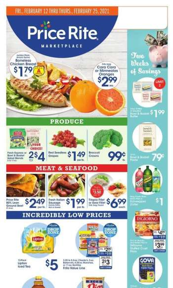Price Rite Flyer - 02.12.2021 - 02.25.2021.