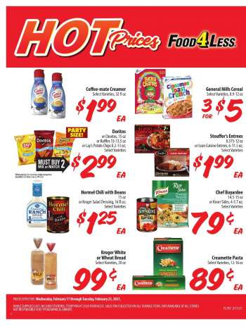 Food 4 Less Flyer - 02.17.2021 - 02.23.2021.