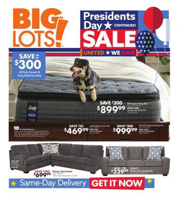Big Lots Flyer - 02.21.2021 - 02.27.2021.