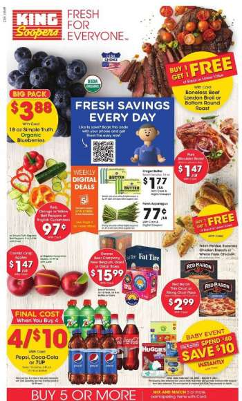 King Soopers Flyer - 02.24.2021 - 03.02.2021.