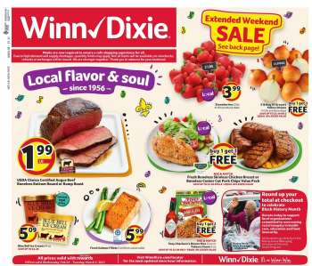 Winn Dixie Flyer - 02.24.2021 - 03.02.2021.