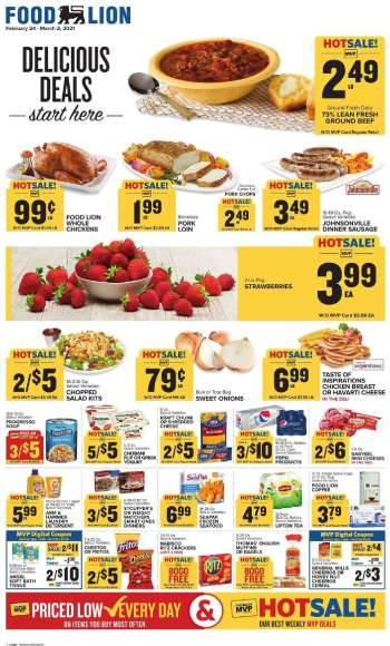 Food Lion Flyer - 02.24.2021 - 03.02.2021.
