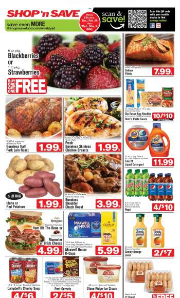 Shop 'n Save Flyer - 02.25.2021 - 03.03.2021.