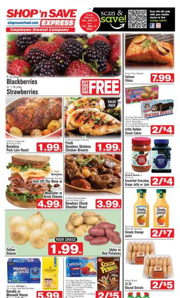 Shop 'n Save Express Flyer - 02.27.2021 - 04.05.2021.