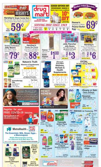 Discount Drug Mart Flyer - 03.03.2021 - 03.09.2021.