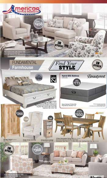 American Furniture Warehouse Flyer - 02.28.2021 - 03.06.2021.