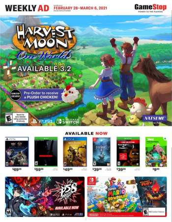 GameStop Flyer - 02.28.2021 - 03.06.2021.