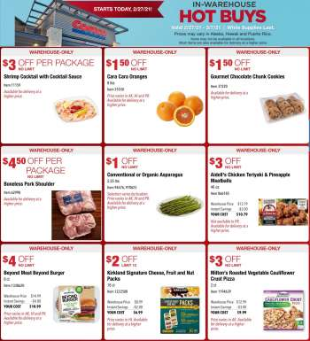 Costco Flyer - 02.27.2021 - 03.07.2021.
