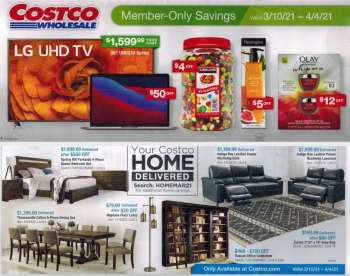 Costco Flyer - 03.10.2021 - 04.04.2021.