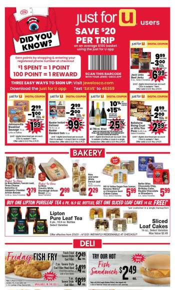 Jewel Osco Flyer - 03.03.2021 - 03.09.2021.