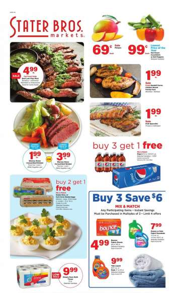 Stater Bros. Flyer - 03.03.2021 - 03.09.2021.