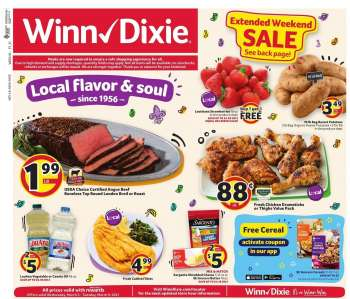 Winn Dixie Flyer - 03.03.2021 - 03.09.2021.