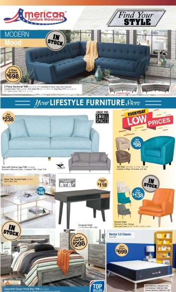 American Furniture Warehouse Flyer - 03.07.2021 - 03.13.2021.