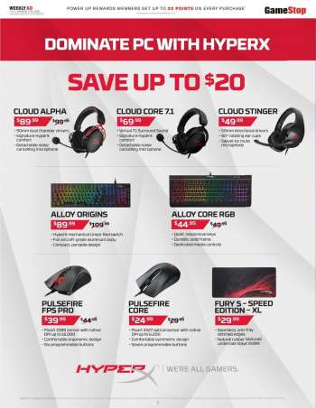 GameStop Flyer - 03.07.2021 - 03.13.2021.