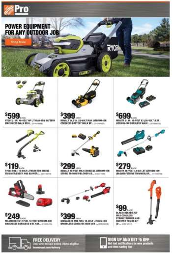 The Home Depot Flyer - 03.08.2021 - 03.15.2021.