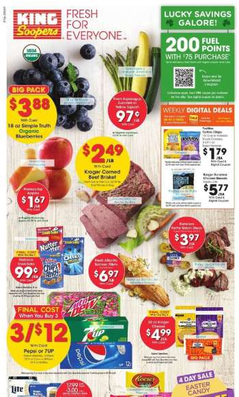King Soopers Flyer - 03.10.2021 - 03.16.2021.