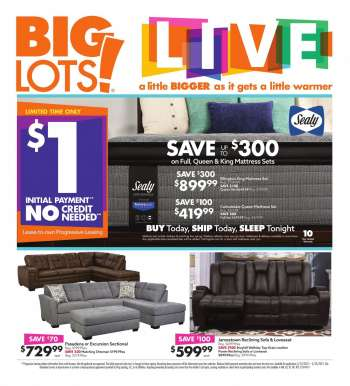 Big Lots Flyer - 03.13.2021 - 03.20.2021.