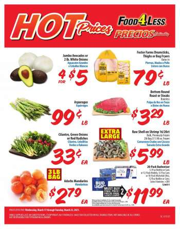 Food 4 Less Flyer - 03.17.2021 - 03.23.2021.