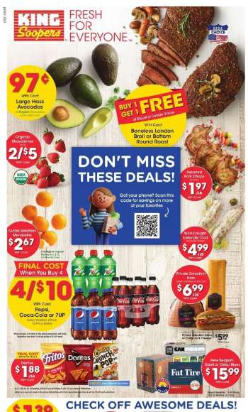 King Soopers Flyer - 03.17.2021 - 03.23.2021.