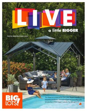 Big Lots Flyer - 03.18.2021 - 08.15.2021.