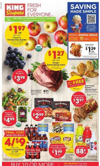 King Soopers Flyer - 03.24.2021 - 03.30.2021.