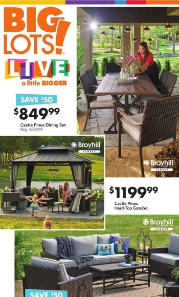 Big Lots Flyer - 03.27.2021 - 04.04.2021.