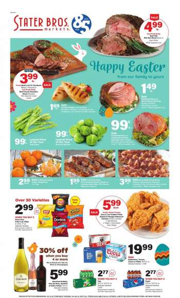 Stater Bros. Flyer - 03.31.2021 - 04.06.2021.