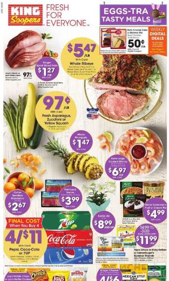 King Soopers Flyer - 03.31.2021 - 04.06.2021.