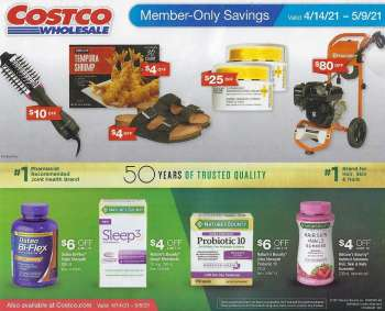Costco Flyer - 04.14.2021 - 05.09.2021.