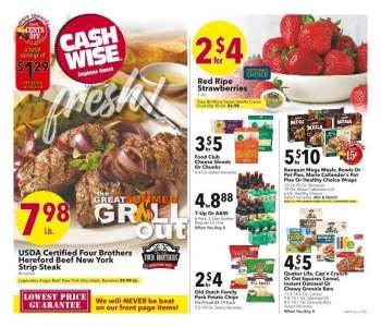 Cash Wise Flyer - 04.07.2021 - 04.13.2021.