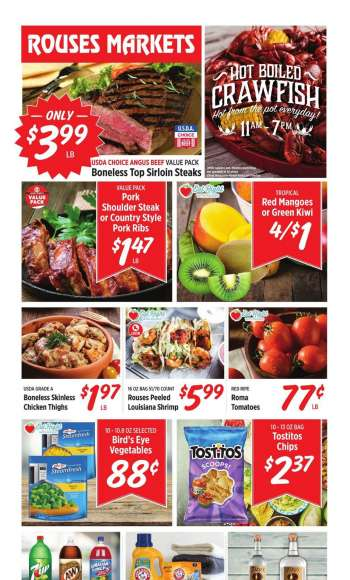 Rouses Markets Flyer - 04.07.2021 - 04.14.2021.