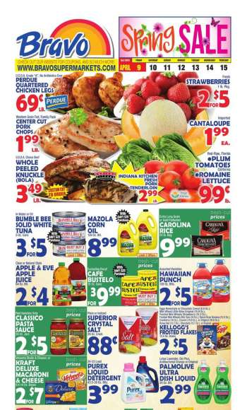 Bravo Supermarkets Flyer - 04.09.2021 - 04.15.2021.