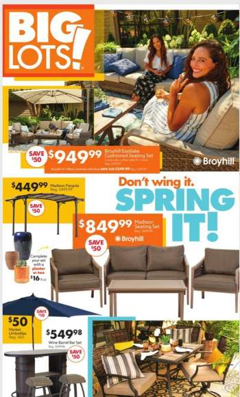 Big Lots Flyer - 04.10.2021 - 04.17.2021.