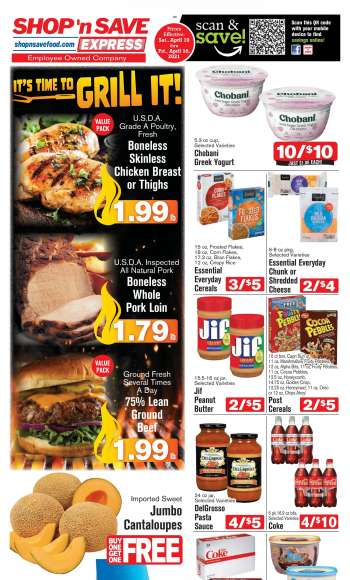 Shop 'n Save Express Flyer - 04.10.2021 - 04.16.2021.