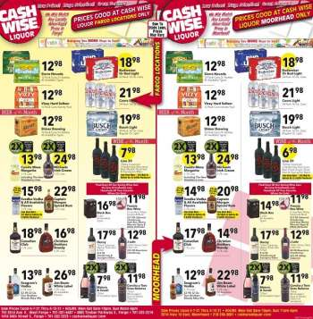 Cash Wise Liquor Only Flyer - 04.07.2021 - 04.13.2021.