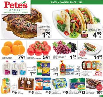 Pete's Fresh Market Flyer - 04.14.2021 - 04.20.2021.