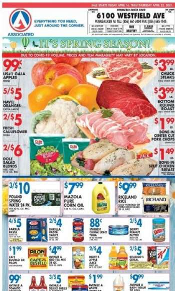 Associated Supermarkets Ad