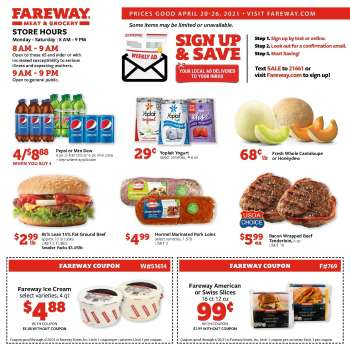 Fairway Market Flyer - 04.20.2021 - 04.26.2021.