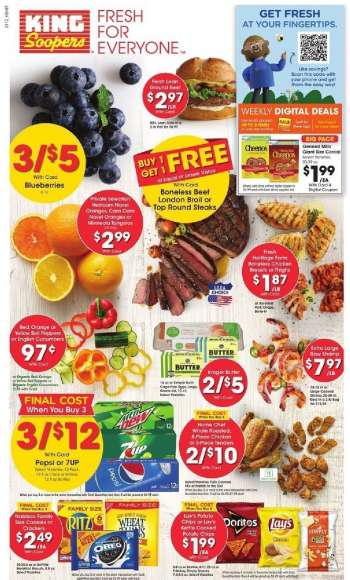 King Soopers Flyer - 04.21.2021 - 04.27.2021.