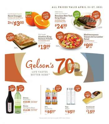 Gelson's Ad