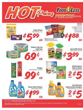 Food 4 Less Flyer - 04.28.2021 - 05.04.2021.