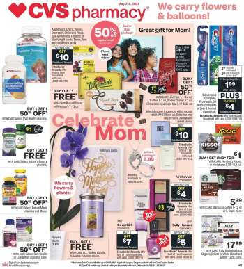 CVS Pharmacy Flyer - 05.02.2021 - 05.08.2021.