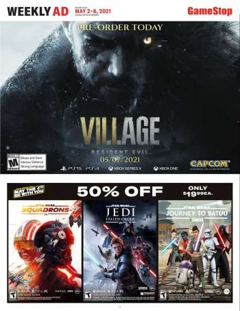 GameStop Flyer - 05.02.2021 - 05.08.2021.