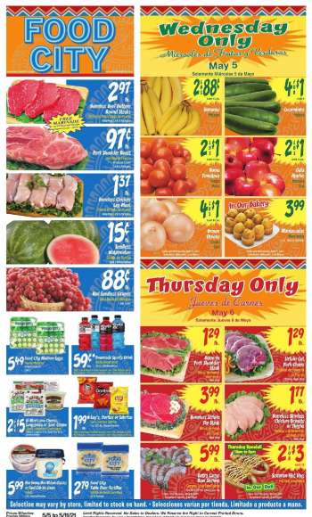 Food City Flyer - 05.05.2021 - 05.11.2021.