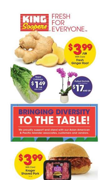 King Soopers Flyer - 05.05.2021 - 05.18.2021.